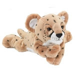 Large Stuffed Cheetah Cub Conservation Critter by Wildlife Artists