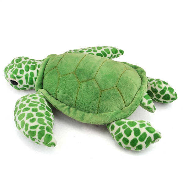 Large Stuffed Sea Turtle Conservation Critter By Wildlife Artists At