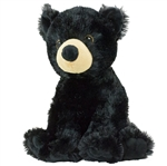 Large Stuffed Black Bear Conservation Critter by Wildlife Artists