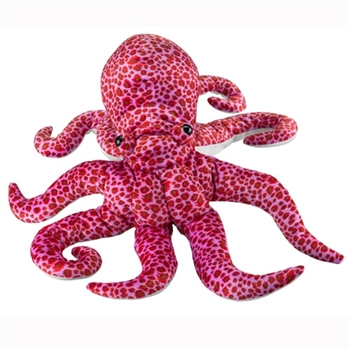 Big 21 Inch Stuffed Octopus by Wildlife Artists