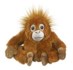 Stuffed Orangutan Eco Pals Plush by Wildlife Artists