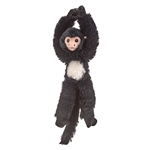 Stuffed Hanging Spider Monkey Eco Pals Plush by Wildlife Artists