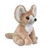 Stuffed Fennec Fox Eco Pals Plush by Wildlife Artists