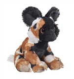 Stuffed African Wild Dog Eco Pals Plush by Wildlife Artists