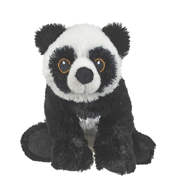 Stuffed Panda Bear Eco Pals Plush by Wildlife Artists