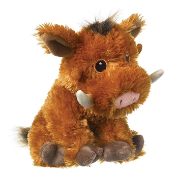 Stuffed Warthog Eco Pals Plush by Wildlife Artists