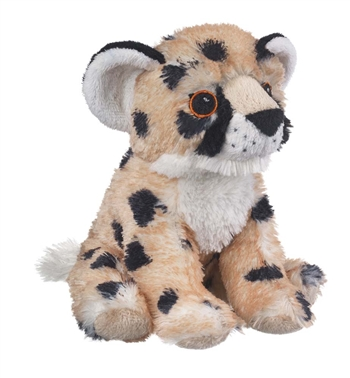 Stuffed Cheetah Cub Eco Pals Plush by Wildlife Artists