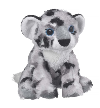 Stuffed Snow Leopard Cub Eco Pals Plush by Wildlife Artists