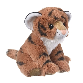 Stuffed Tiger Cub Eco Pals Plush by Wildlife Artists