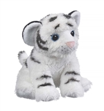 Stuffed White Tiger Cub Eco Pals Plush by Wildlife Artists