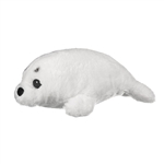 Stuffed Harp Seal Pup Eco Pals Plush by Wildlife Artists