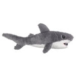 Stuffed Great White Shark Eco Pals Plush by Wildlife Artists