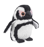 Stuffed Black-Footed Penguin Eco Pals Plush by Wildlife Artists