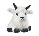 Stuffed Mountain Goat Eco Pals Plush by Wildlife Artists