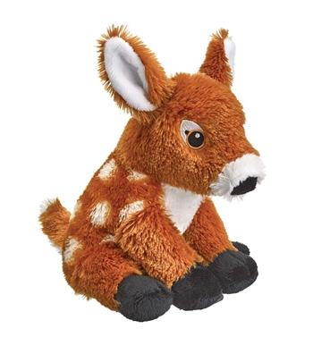 Stuffed White-tailed Deer Fawn Eco Pals Plush by Wildlife Artists