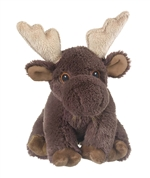 Stuffed Moose Eco Pals Plush by Wildlife Artists