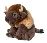 Stuffed Bison Eco Pals Plush by Wildlife Artists