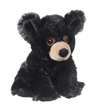 Stuffed Black Bear Eco Pals Plush by Wildlife Artists