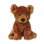 Stuffed Grizzly Bear Eco Pals Plush by Wildlife Artists