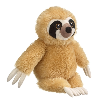 Eco Pals Plush Three-Toed Sloth by Wildlife Artists