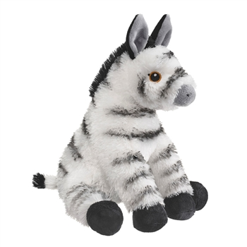 Eco Pals Plush Zebra by Wildlife Artists