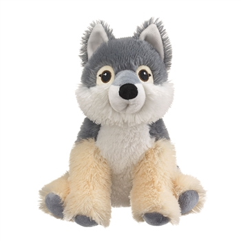 Eco Pals Plush Gray Wolf by Wildlife Artists