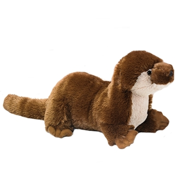 Large Stuffed River Otter Conservation Critter by Wildlife Artists