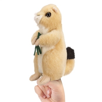 Plush Prairie Dog Finger Puppet by Wildlife Artists
