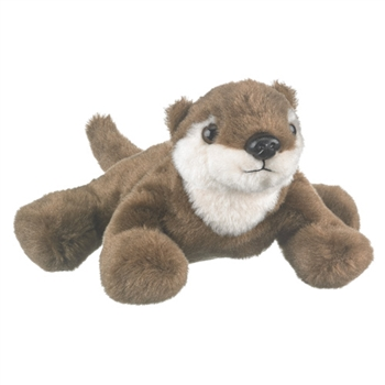 Plush River Otter Finger Puppet Play Critter by Wildlife Artists