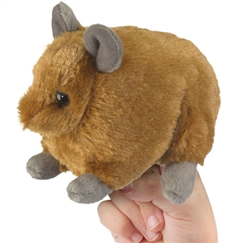Plush Pika Finger Puppet by Wildlife Artists