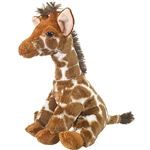 Newborn Stuffed Giraffe Calf by Wildlife Artists