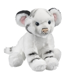 Newborn Stuffed White Tiger Cub by Wildlife Artists