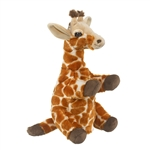 Plush Giraffe Puppet Eco Pals by Wildlife Artists