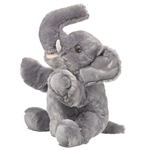 Plush Elephant Puppet Eco Pals by Wildlife Artists