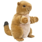 Plush Prairie Dog Puppet Eco Pals by Wildlife Artists