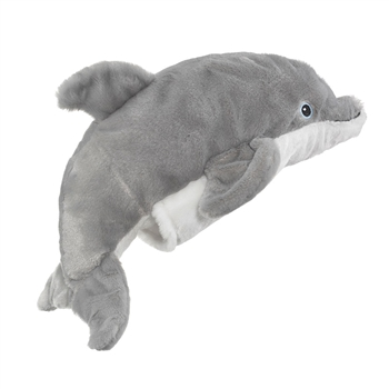 Plush Dolphin Puppet Eco Pals by Wildlife Artists