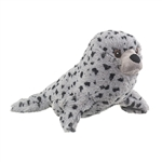 Plush Harbor Seal Puppet Eco Pals by Wildlife Artists