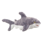 Plush Great White Shark Puppet Eco Pals by Wildlife Artists