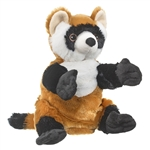 Plush Black-Footed Ferret Puppet Eco Pals by Wildlife Artists