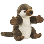 Plush River Otter Puppet Eco Pals by Wildlife Artists