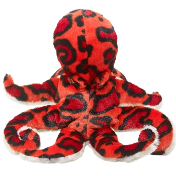 Plush Octopus Puppet Eco Pals by Wildlife Artists