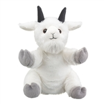 Plush Mountain Goat Puppet Eco Pals by Wildlife Artists
