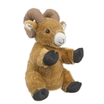 Plush Bighorn Sheep Puppet Eco Pals by Wildlife Artists