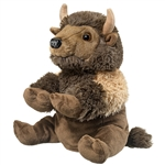Plush Bison Puppet Eco Pals by Wildlife Artists