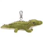 Small of the Wild Clip On Stuffed Alligator by Wildlife Artists
