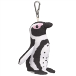 Small of the Wild Clip On Black Footed Penguin by Wildlife Artists