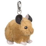 Eco Pals Clip On Stuffed Pika by Wildlife Artists