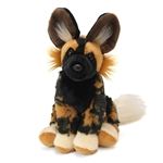 Stuffed African Wild Dog Mini Cuddlekin by Wild Republic