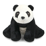 Baby Stuffed Panda Bear Mini Cuddlekin by Wild Republic
