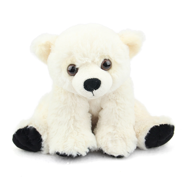 Baby Stuffed Polar Bear Mini Cuddlekin By Wild Republic At Stuffed